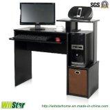 Mesa de madeira do computador da alta qualidade com a gaveta não tecida da tela (WS16-0002, com bandeja do teclado)