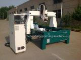 Hölzerne schnitzende Maschine CNC-3D 4axis mit Drehmittellinie (JCT1530L)