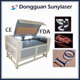 Tagliatrice acrilica del laser di buoni prezzi con i risultati perfetti di taglio