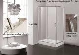 Дверь входа двери ливня Sanitaryware ливня ванной комнаты экрана приложения ливня угловойая сползая