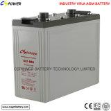 Preço de fábrica profundo da bateria 2V700ah do AGM do ciclo para o projeto solar