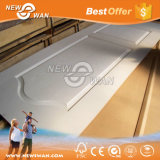 Piel preparada blanca Textured/lisa 2.7m m, 3m m, 3.2m m de la puerta de HDF