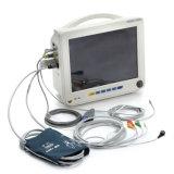 Monitor paciente del multiparámetro médico aprobado de Ce&ISO de 12 pulgadas