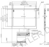 "3.5 "" TFT 320X240, mit Resistive Touch Panel: ATM0350d19-T"