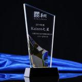 Оптовое дешевое стеклянное кристаллический пожалование трофея