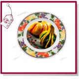 '' керамическая плита 8 с оправой и красная клубника Mejorsub