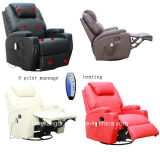 Kd-Ms7028 Recliner de massage de vibration de 8 points/sofa de massage/fauteuil de massage