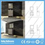 Mobilia fissa di vendita calda della stanza da bagno di legno solido del taglio pulito (BV219W)