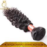 Африканские чернокожие женщины большинств волосы популярных человеческих волос Weft курчавые