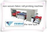 Крен для того чтобы свернуть автоматическое Non-Woven оборудование печатание экрана цвета ткани 2
