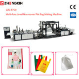 Sac d'Eco faisant le tissu non tissé Zxl-B700 de machine