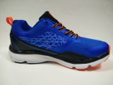 Pattini pareggianti resilienti delle calzature di gomma blu scuro