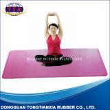 Mat van de Yoga van het Natuurlijke Rubber van het Leer van Pu de Hoogste Antislip Milieuvriendelijke
