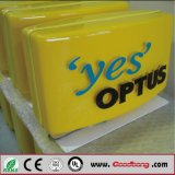 LEIDENE Van uitstekende kwaliteit van de Reclame van de douane Openlucht Verlichte Lightbox
