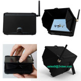 "5 ""Portable 1.2GHz Mini DVR receptor inalámbrico con pantalla LCD y Sunshield"