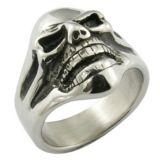 anillos hechos a mano de los hombres del motorista del molde del acero inoxidable 316L