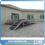 Etapa al aire libre de aluminio ajustable para Eventos