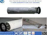 Saco de filtro do poliéster com a membrana de PTFE para a venda quente e a amostra livre