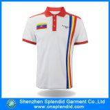 중국 공급자 도매 100%년 면 남자 Xxxxl 긴 줄 폴로 셔츠