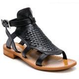CONFORT PU de señora Flat Sandal