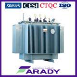 250kVA 11kvの分布の変圧器のオイルによって浸される変圧器