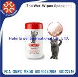 Animal de estimação descartável que banha Wipes da limpeza/toalhas molhadas/Wipes anti-baterianos animal de estimação dos tecidos