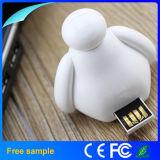 Lecteur flash USB mignon en gros 2GB de dessin animé d'OEM Manufacter
