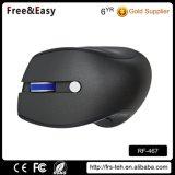 schwarze drahtlose Maus USB-2.4G