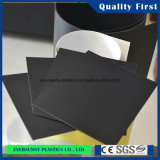 PVC libero Sole Rigid Sheets Black per Shoes 3mm