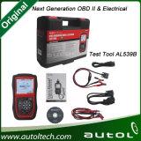 2016 hoogste-Geschatte Originele Autel Autolink Al539b Obdii en het ElektroHulpmiddel van de Test met Hulpmiddel van het Aftasten van de Auto Avo het Meter Geavanceerde Al539