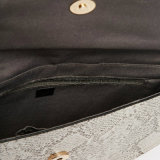 2016 spätestes Form-Damen PU-Leder gebogene Schlange-Handtasche (KITSS-15-23)