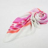 Signora Pink Stripe e sciarpa della geometria di Pentagram