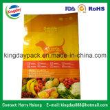 Le sac de empaquetage d'aliment pour animaux familiers, avec Standup/4 zip-lock dégrossit les côtés Sealing/8 scellant le sac d'aliment pour animaux familiers 15kgs