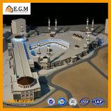 Модель мечети Саудовской Аравии Мекка/красивейшая модель общественного здания/модель здания/селитебное модельное/все виды изготовления знаков