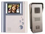 Telefone de porta de vídeo a cores de 4 polegadas mãos livres