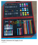 101 PCs Drawing Art Set in Wooden Box voor Kids en Students
