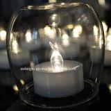 O estilo novo personaliza o diodo emissor de luz plástico bonito Tealight da vela