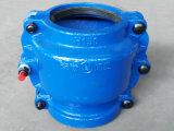 Reparar la abrazadera, collar de la reparación, collar de la encapsulación, collar partido para la espita al color azul de la tubería H150 del hierro del socket, reparación en línea del escape