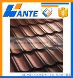 Mattonelle di tetto rivestite del metallo di vendita della pietra calda di riciclabilità