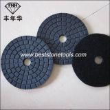 Buff del nero Wd-5 per il tampone a cuscinetti per lucidare di pietra flessibile del diamante