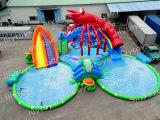 Grosser Verkauf! Thema-aufblasbarer Unterhaltungs-Wasser-Park für Kinder
