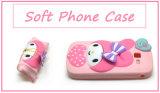 Nett mein Melodien-Inneres PUNKT Kaninchen-Silikon-Telefon-Kasten für Samsung-Galaxie J1 J5 J7 (XSK-015)