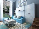 소파와 내각을%s 가진 현대 수직 기우는 벽 침대