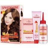 10 Minuten Speedshine permanente Haar-Farben-Sahne hellbraun