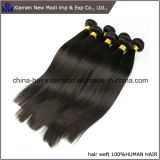 급료 5A Natural Black Color 브라질 Virgin Hair Weave