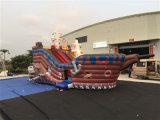 Patio inflable del nuevo del diseño 2016 barco inflable del pirata para la venta