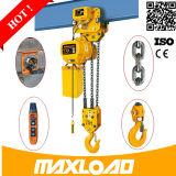 Самая лучшая эффективность деятельности цепная лебедка /Electric тали с цепью 1 тонны электрическая