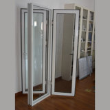 Qualitäts-Aluminiumprofil-Flügelfenster-Fenster mit Edelstahl-Bildschirm K03026