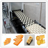 De Machine van het koekje (100-150kg/h), de Lijn van de Machines van de Fabricatie van koekjes met Nieuwe Ontwerpen