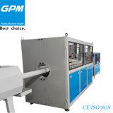 Tubulação do PVC para a linha de produção da eletricidade